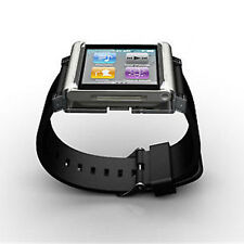 Multi-Touch Lunatik Watch Band Wrist Strap Bracelet For iPod Nano 6 6th Silver
