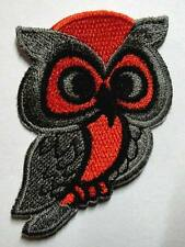 CUTE PRETTY OWL DECORATE BAG JEAN JACKET Embroidered Iron on Patch Free Postage
