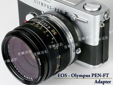 Canon EOS Lens- Olympus PEN F FT FV Camera body adapter