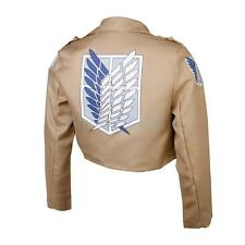 Attack On Titan Shingeki No Kyojin Jacket Coat Legion Cosplay Costume Unisex L
