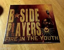 "B SIDE PLAYERS ~ FIRE IN THE YOUTH ~ STICKER ~ DECAL ~ 4"" x 4"" ~ BAND ~ LOGO"