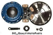 QSC Stage 3 Clutch & Forged Flywheel Kit fits Honda H22 H23 F22 F23 Motor