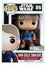Star Wars Funko Pop Vinyl Loot Crate Exclusive Han Solo Snow Gear FREE SHIPPING