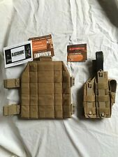 GENUINE BLACKHAWK! 991044CT MOLLE DROP LEG HOLSTER W/LEG MOUNT CUSTOM