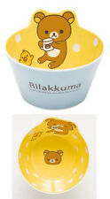 Cute Rilakkuma San-X Bear Oatmeal Rice Soup Bowl Kitchen Melamine Anti Fall Bowl