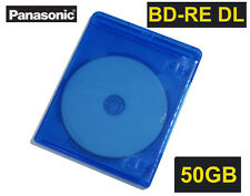 Made in Japan Panasonic Blu Ray Rewritable BD RE 50gb 2X Inkjet Printable Bluray