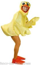 Adult Rubber Duck Duckling Easter Bird Novelty Funny Fancy Dress Costume Outfit