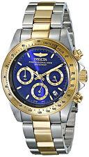 Reloj Invicta Hombre Gold Silver Oro Plata Crystal Bracelet Pulsera Watch Men
