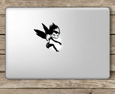 Mini Ryuk Holding Apple Death Note - Apple Macbook Laptop Vinyl Sticker Decal
