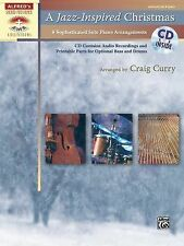 A Jazz-Inspired Christmas: Solo Piano Arrangements with Optional Bass and Drum P