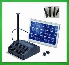 20 Watt Solarpumpe Solar Gartenteichpumpe Filter Teichpumpe Pumpenset Tauchpumpe