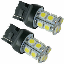 7440 13 SMD LED White Brake Stop Tail Light Car Bulb T20 3157