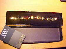 JOAN RIVERS I LOVE YOU BRACELET GOLDTONE CLASSICS COLLECTION NEW IN BOX