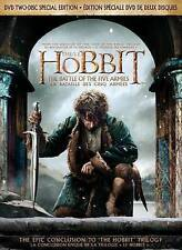 The Hobbit: The Battle of the Five Armies (DVD, 2015, 2-Disc Set, Canadian)