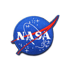 NASA Logo Patch Embroidered Space Velcro Patch