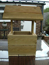 Large wishing well planter free postage in the uk