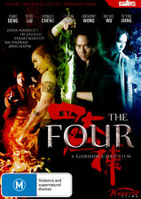 The Four (FanAsia) * NEW DVD *
