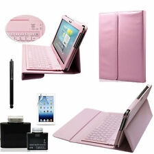 Bluetooth Keyboard Leather Case Cover For Samsung Galaxy Tab 2 10.1 P5100 P5110