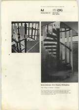 1965 Spiral Staircase In The Civic Theatre Nottingham Peter Moro