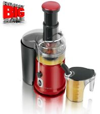 Legend Red Pro 900W Whole Fruit Power Juicer Vegetable Citrus Juice Extractor