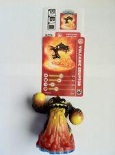 Skylanders Swap Force Dark Eruptor loose figure w/card !