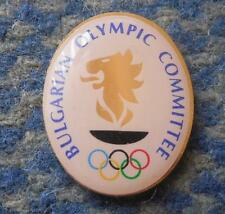 NOC BULGARIA OLYMPIC LONDON 2012 PIN BADGE