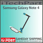 Genuine Samsung Galaxy Note 4 N910F Home Button Flex Cable Replacement WHITE