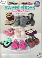 Sweet Shoes for Wee Ones ~ Crochet Book ~ New Release