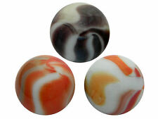 "4 x 25mm (1"") SHOOTER MARBLES - OLD SWIRLS - STUNNING - NEW"