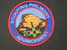 Scouting Philmont 2004 Advancement Patch    c40