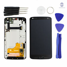 Motorola Droid Turbo 2 XT1580 XT1581 XT1585 LCD Display + Touch screen + Frame