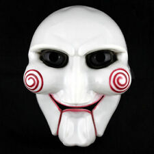 Halloween Party Cosplay Billy Jigsaw Saw Puppet Mask Masquerade Costume