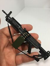 1/6 DRAGON US SAW GUNNER MACHINE GUN+AMMO BOX USMC ARMY 21ST CENTURY BBI DID M60