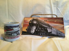 GIFT SET / NEW YORK CENTRAL Wooden Railroad Sign & Matching Coffee Mug