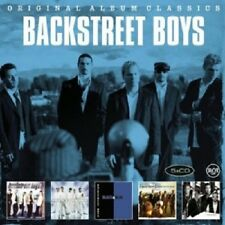 BACKSTREET BOYS - ORIGINAL ALBUM CLASSICS 5 CD NEU