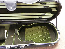 New Violin Case, High Quality 4/4 Size Violin Hard Oblong Case, US SELLER!