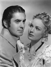 Tyrone Power, Jr. and Frances Farmer UNSIGNED photo - B2495 - Son of Fury