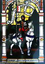 STAINED GLASS WINDOW ART - STATIC CLING WINDOW DECORATION - SIMON DE MONTFORT