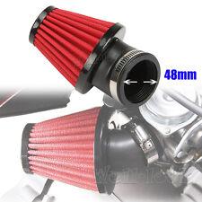 48mm Tuning Air Filter Cone For Honda CB Kawasaki KZ250 Suzuki GS GSX 250 Yamaha