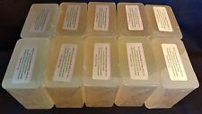 10 lb CLEAR Melt And Pour Glycerin Soap Base 100% All Natural Bulk SLES SLS FREE