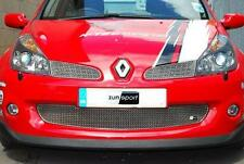 Zunsport Renault Clio 197 2005 on Front Stainless Steel Grille Set Kit