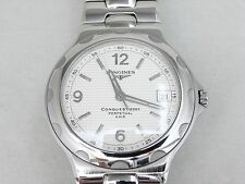 LONGINES Conquest 2001 Perpetual VHP Quartz Date Men's Watch Anniv.Edi L1.639.4
