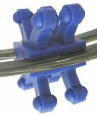 "BowJax Revelation Split Limb Dampener, no screws, fits 11/16"", Blue, 4 pk."