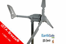 1,5 KW 24V/ i-1500 WINDGENERATOR WhiteEdition iSTA-BREEZE® WINDKRAFTANLAGE 2,25m