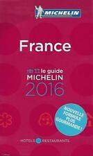 LE GUIDE MICHELIN FRANCE 2016 - COLLECTION - VOYAGE - TOURISME