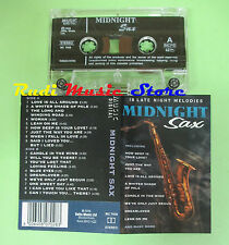 MC MIDNIGHT SAX 1996 italy MUSIC DIGITAL MC 7028 no cd lp dvd vhs