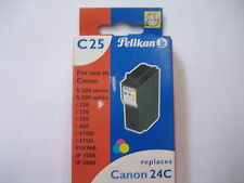 Pelikan color c25 talla 944c #339317 PIXMA ip2000 bci-24c for Canon 24c