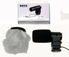 Boya BY-V01 Compact Stereo Microphone, Suit DSLR / Camcorder