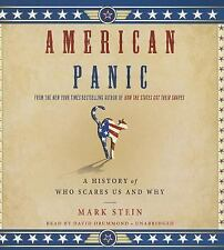American Panic : A History of Who Scares Us and Why by Mark Stein (2014, CD, Una