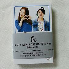 fx f(x)  Mini Post Card 56pcs Korea KPOP star gift new Victoria Amber Luna